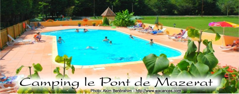 Campings dordogne campings perigord location en campings for Camping sarlat avec piscine